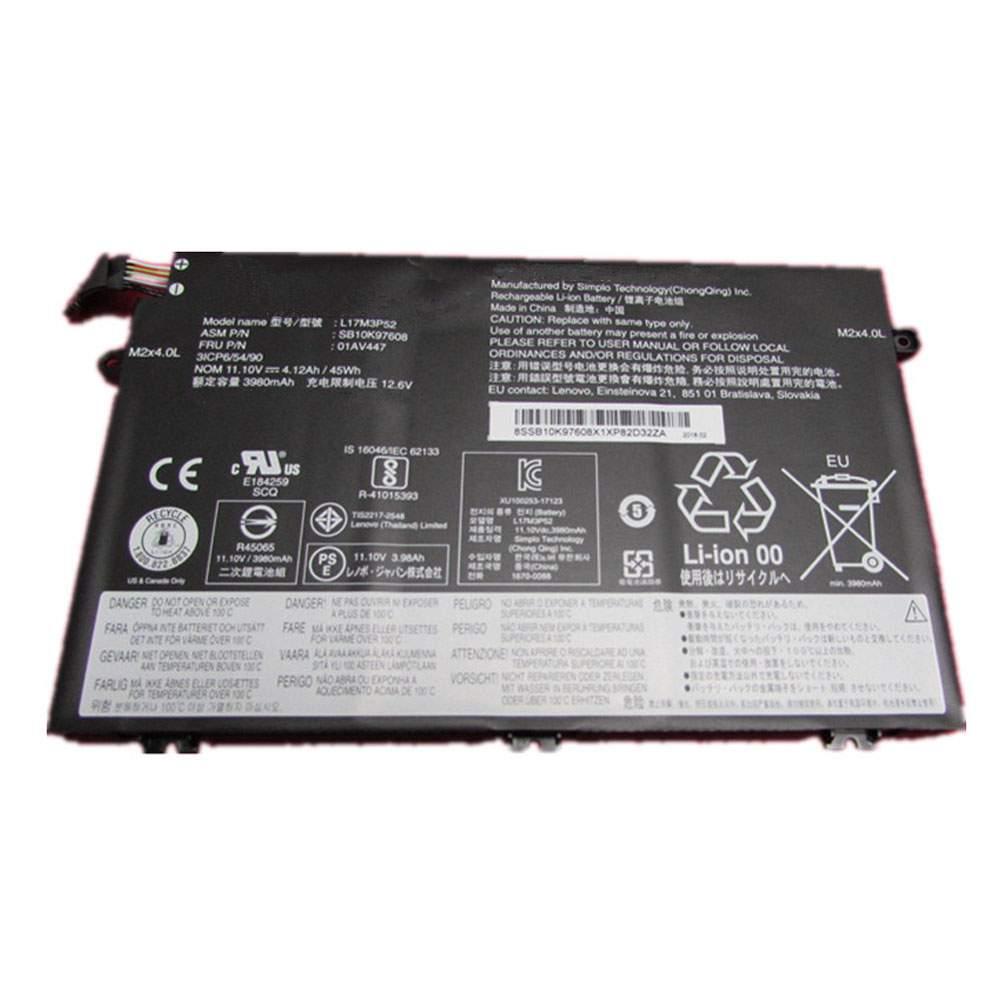 L17M3P52 for Lenovo 01AV447 SB10K97608 Series