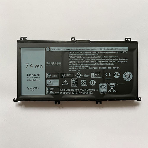 357F9 for Dell Inspiron 15 7559 7000 INS15PD-1548R