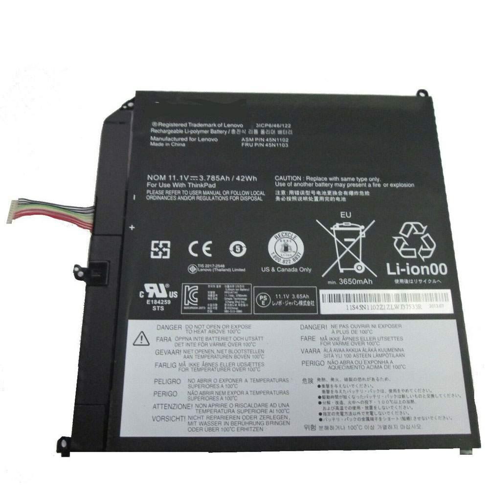 45N1102 for Lenovo ThinkPad Helix Series 3ICP6/46/122