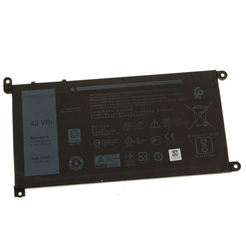 51KD7 for Dell Chromebook 11 3180 3189 Laptop Series