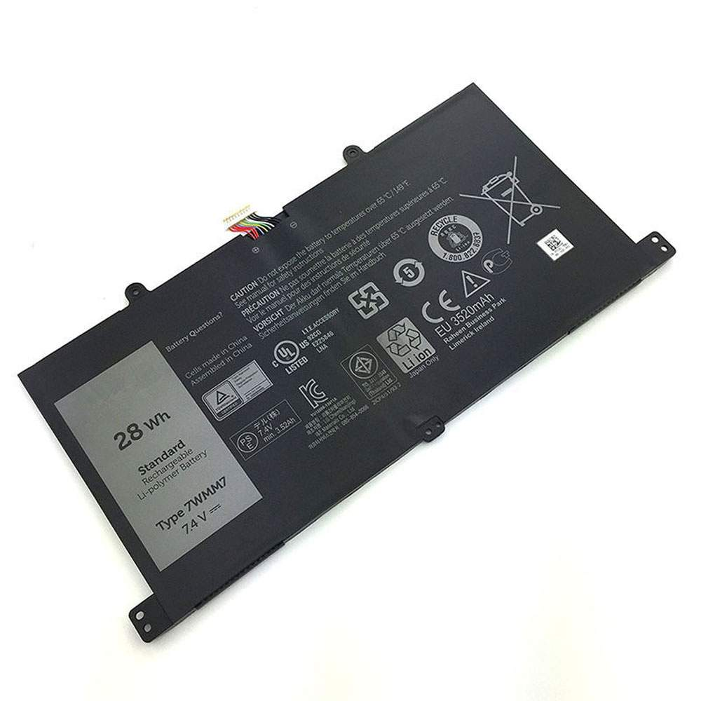 7WMM7 for Dell Venue 11 Pro Keyboard Dock D1R74 CFC6C D1R74
