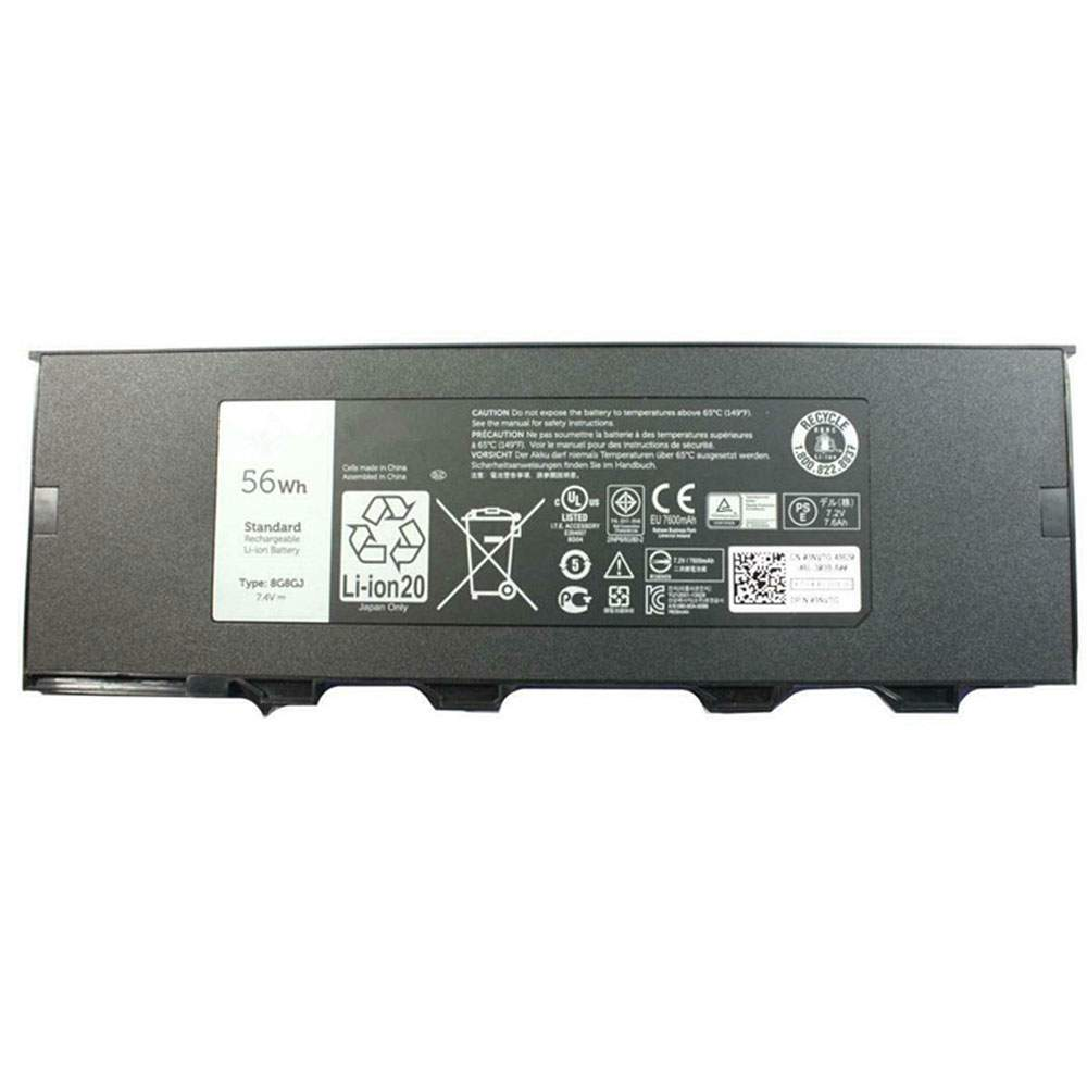 8G8GJ for Dell Latitude 12 Rugged Extreme 7214 7204