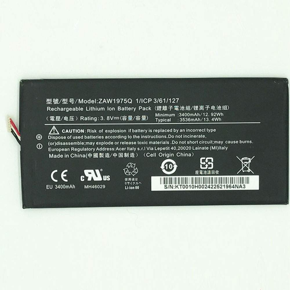 ZAW1975Q for Acer A1-713 A1-713HD Iconia Tab7 LZ