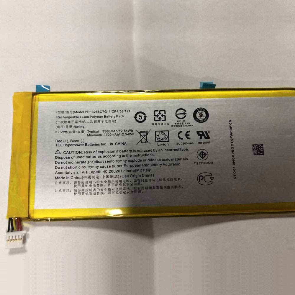 PR-3258C7G for Acer Iconia Talk S A1-734
