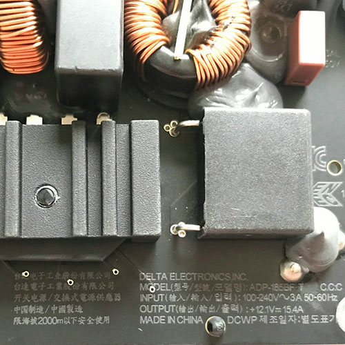 for Late 2012-2015 Apple 21.5 iMac A1418 185W Power Supply ADP-185BF T (DA9