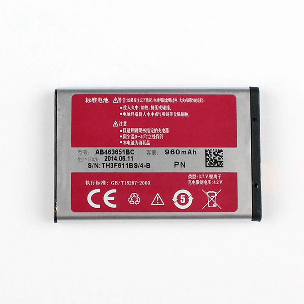 AB463651BC for Samsung S3370 L700 W559 S5628 C3222 S3650C S7070 S5608