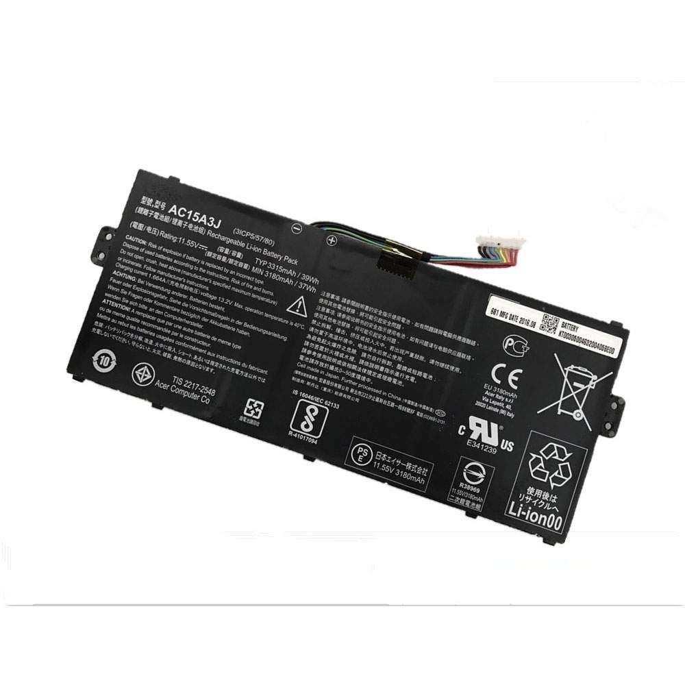 AC15A3J for Acer Chromebook R11 CB5-132T CB3-131 C738T C735
