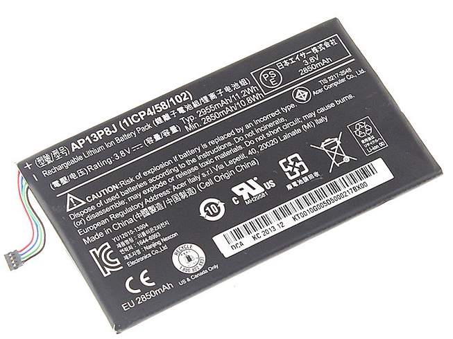 AP13P8J for Acer Iconia Tab B1-720 Tablet Battery (1ICP4/58/102)