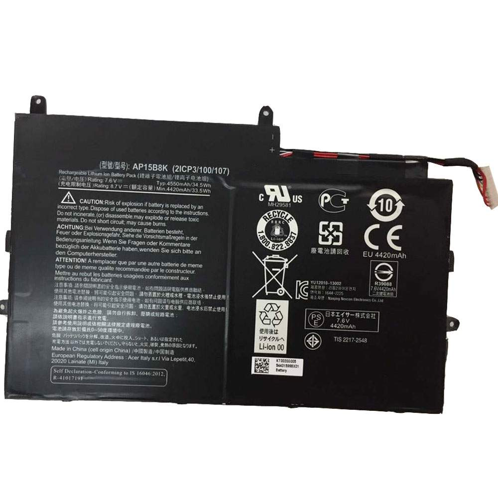 AP15B8K for Acer Aspire Switch 11 SW5-173 SW5-173P series
