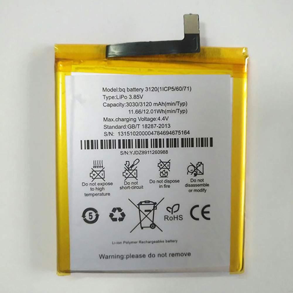 AquarisM5 for BQ battery 3120