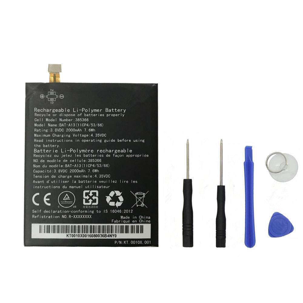 BAT-A13 for Acer 385366 1ICP4/53/66