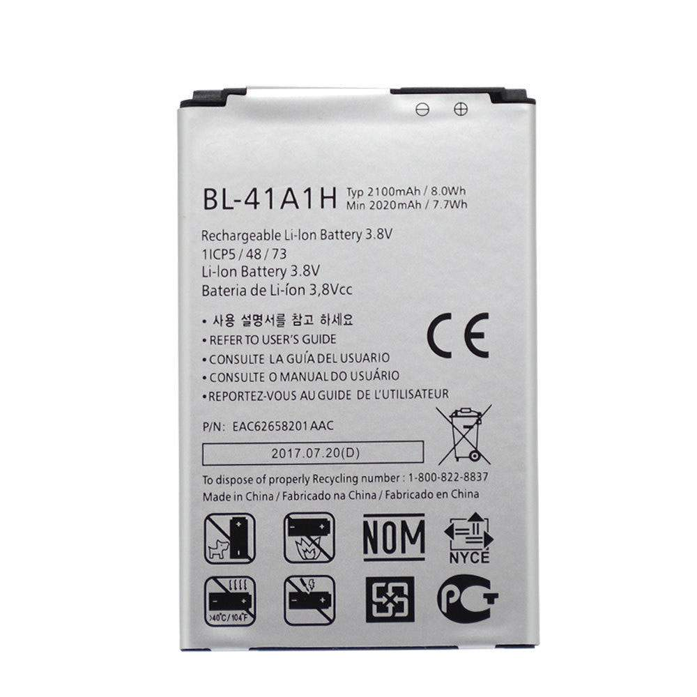 BL-41A1H for LG Optimus F60 MS395 D390N Tribute VS810PP Transpyre LS66