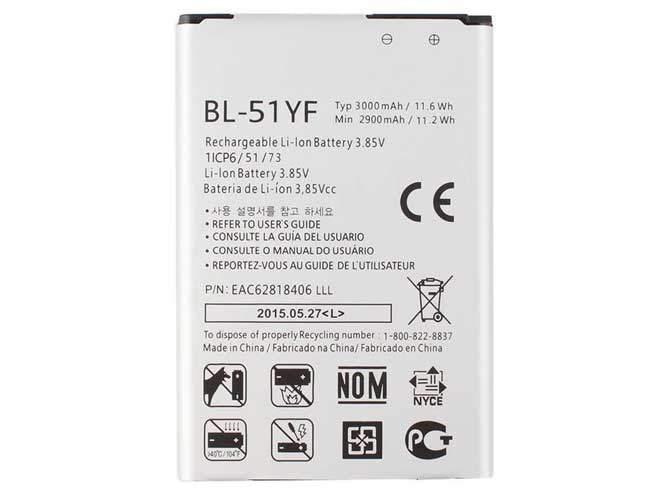 BL-51YF for LG G4 F500 H810 H815 LS991 VS986