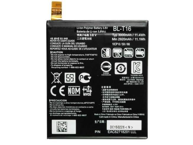BL-T16 for LG G Flex 2 H950 H955 H959 LS996 US995