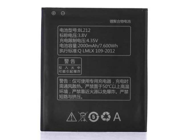 BL212 for Lenovo Golden Warrior S8 S898T+ A708T A628T A620T