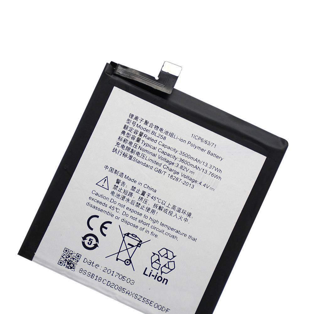 BL258 for Lenovo Vibe X3 Lemeng X3 X3C50 X3C70