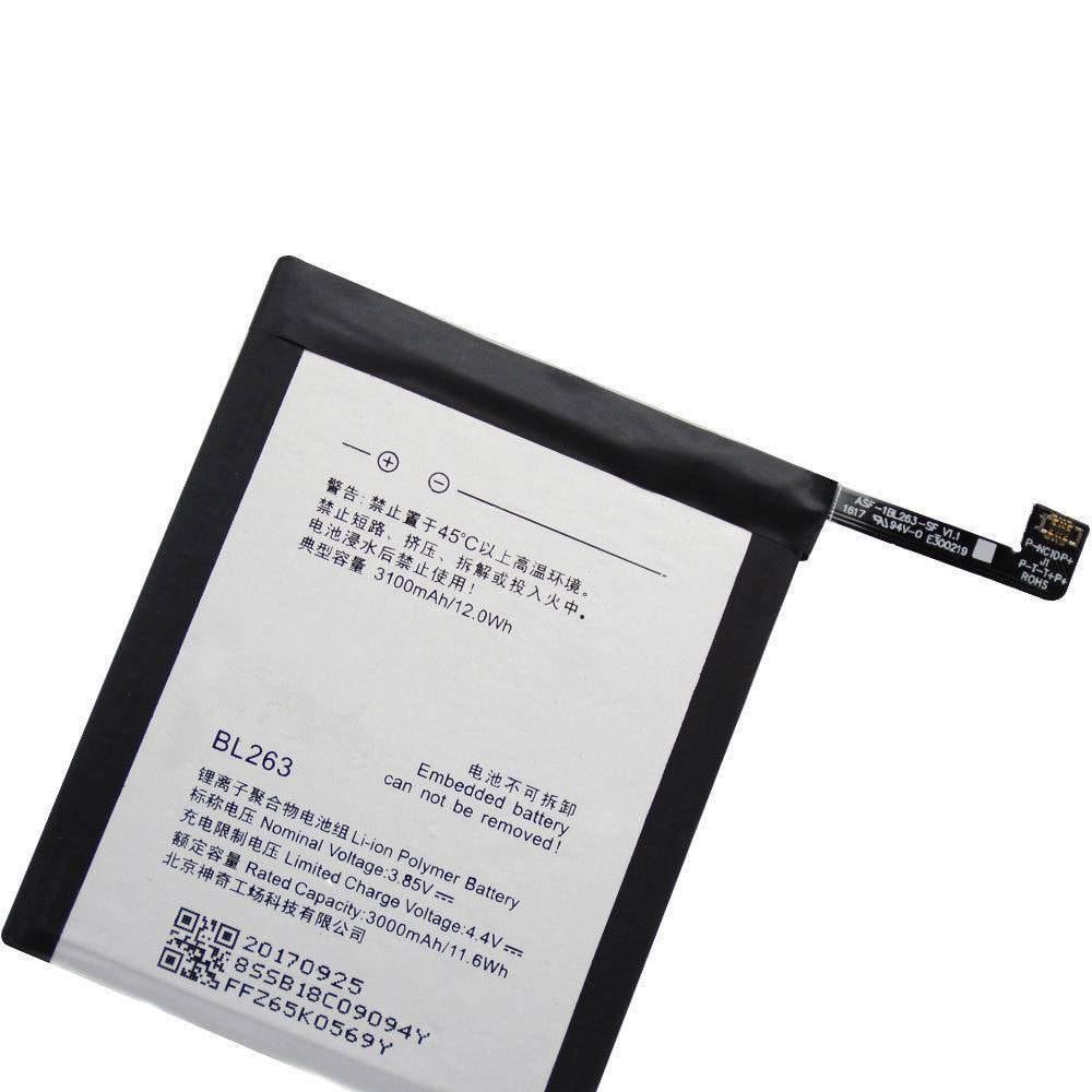 BL263 for Lenovo ZUK Z2pro Z2121