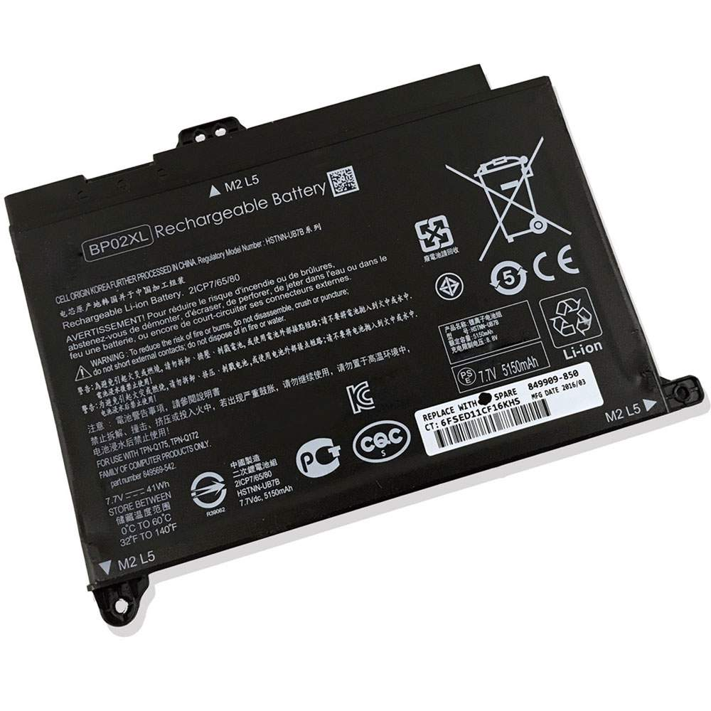 BP02XL for HP Pavilion Notebook PC 15 15-AU010WM 15-AU018WM