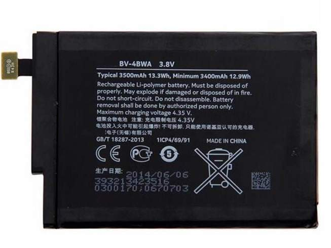 BV-4BWA for Nokia Lumia 1320 +Tools
