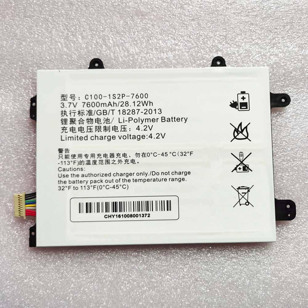 C100-1S2P-7600 for Clevo PCPAD X5 CM/Pro/Plus