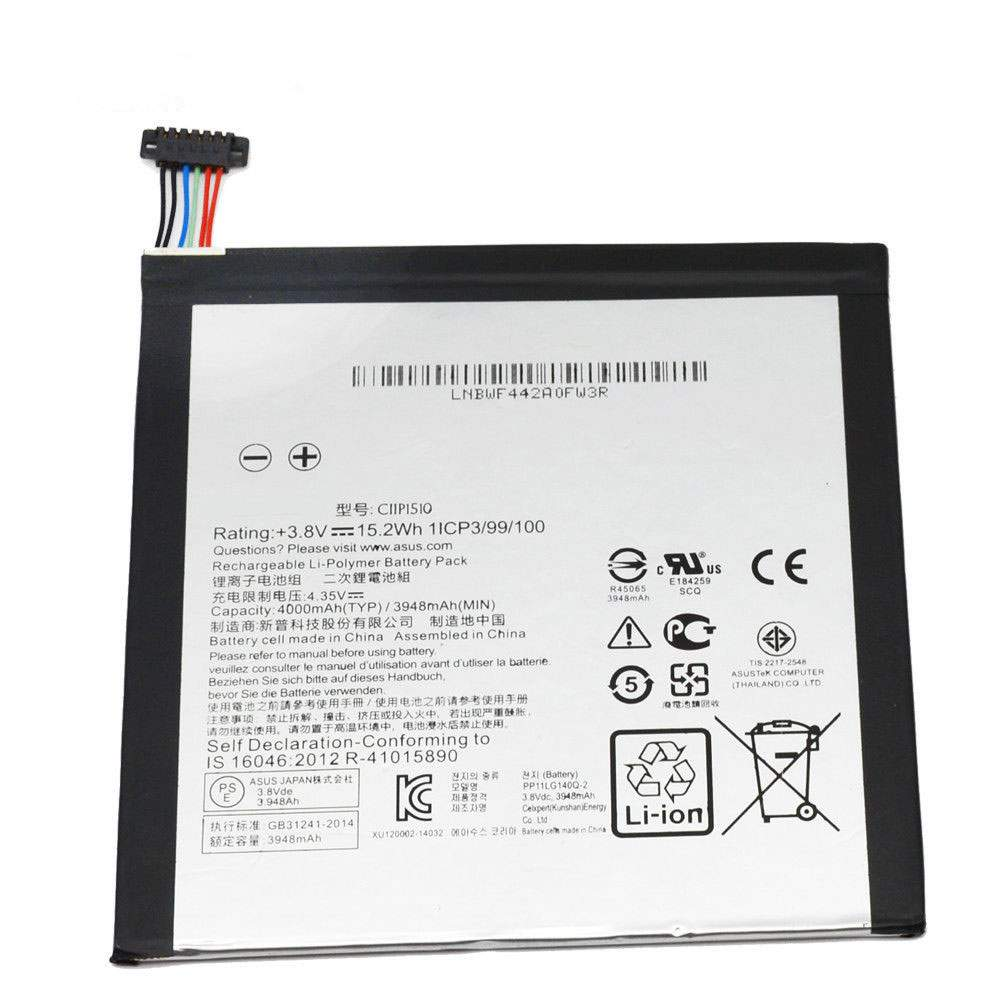 C11P1510 for Asus ZenPad S 8.0 Z580CA Series