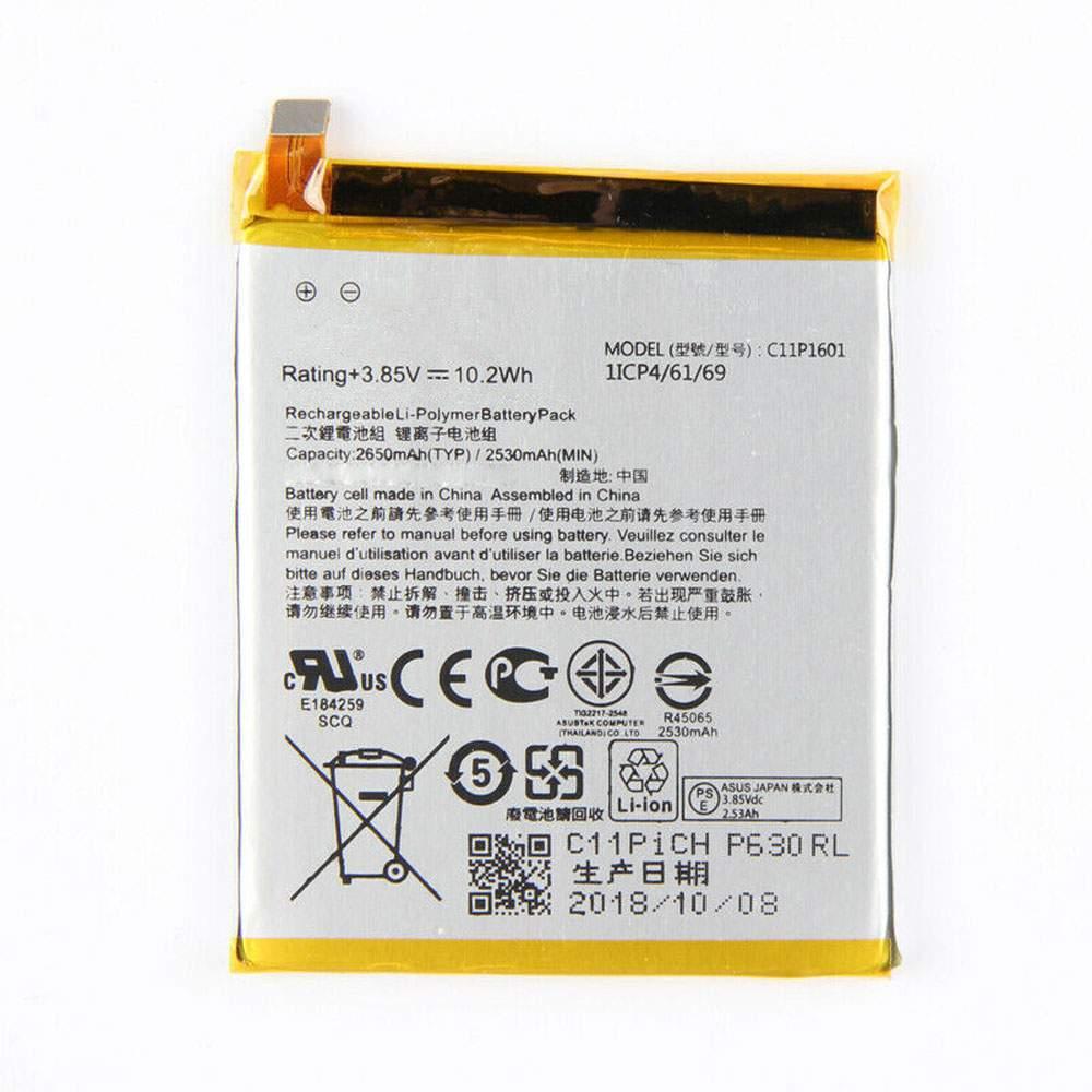 C11P1601 for ASUS ZENFONE 3 ZE520KL Z017DA ZB501KL