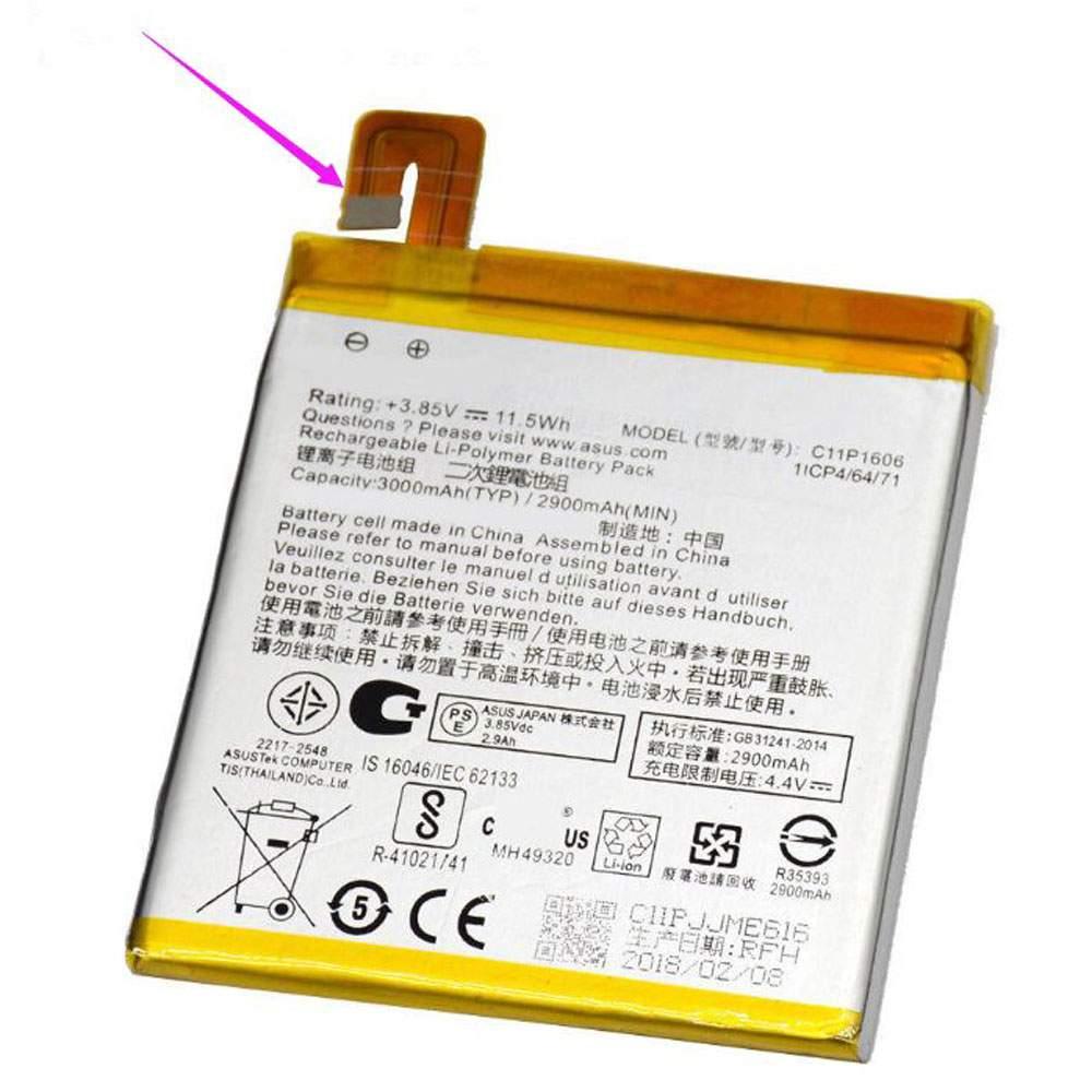"""C11P1606 for ASUS Zenfone 3 Laser 5.5"""" 32 GB Smartphone -ZX551KL"""