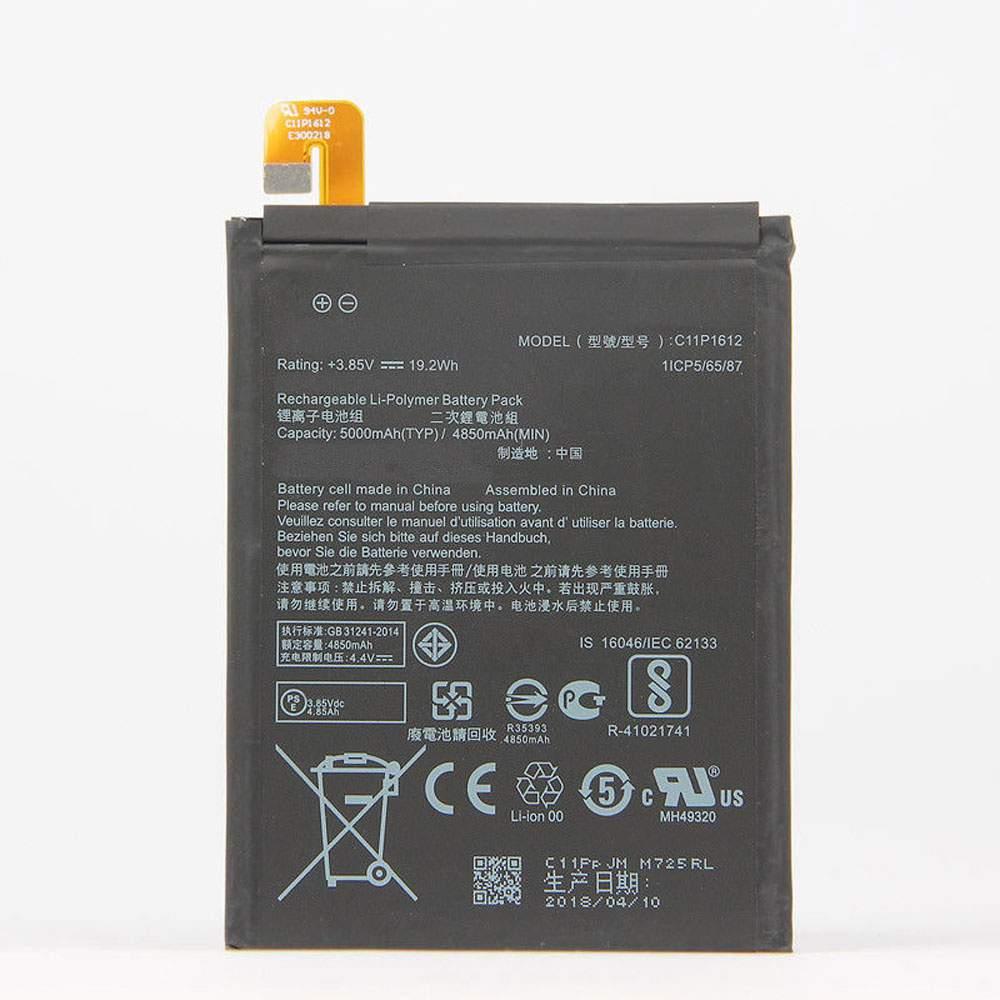 C11P1612 for ASUS ZE553KL ZenFone 3 Zoom Dual Z01HDA SIM LTE Zoom S
