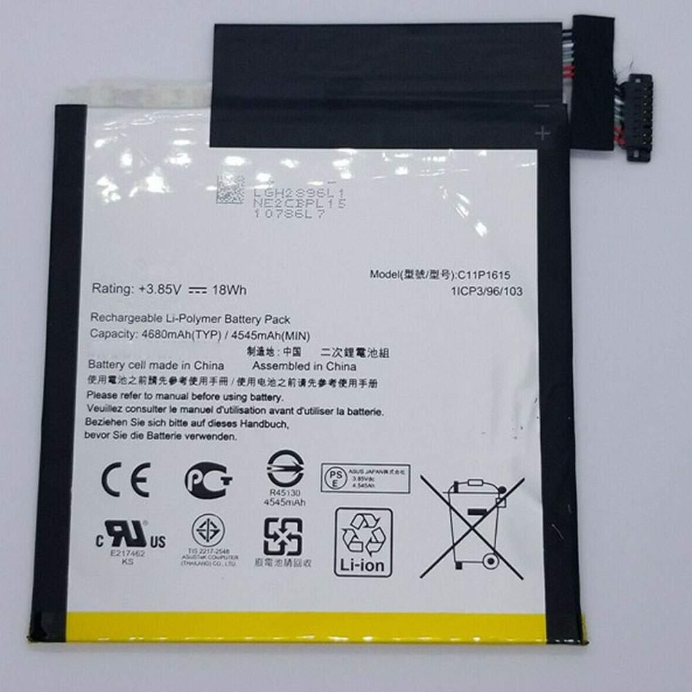 C11P1615 for ASUS ZenPad Z8S P00J ZT582KL