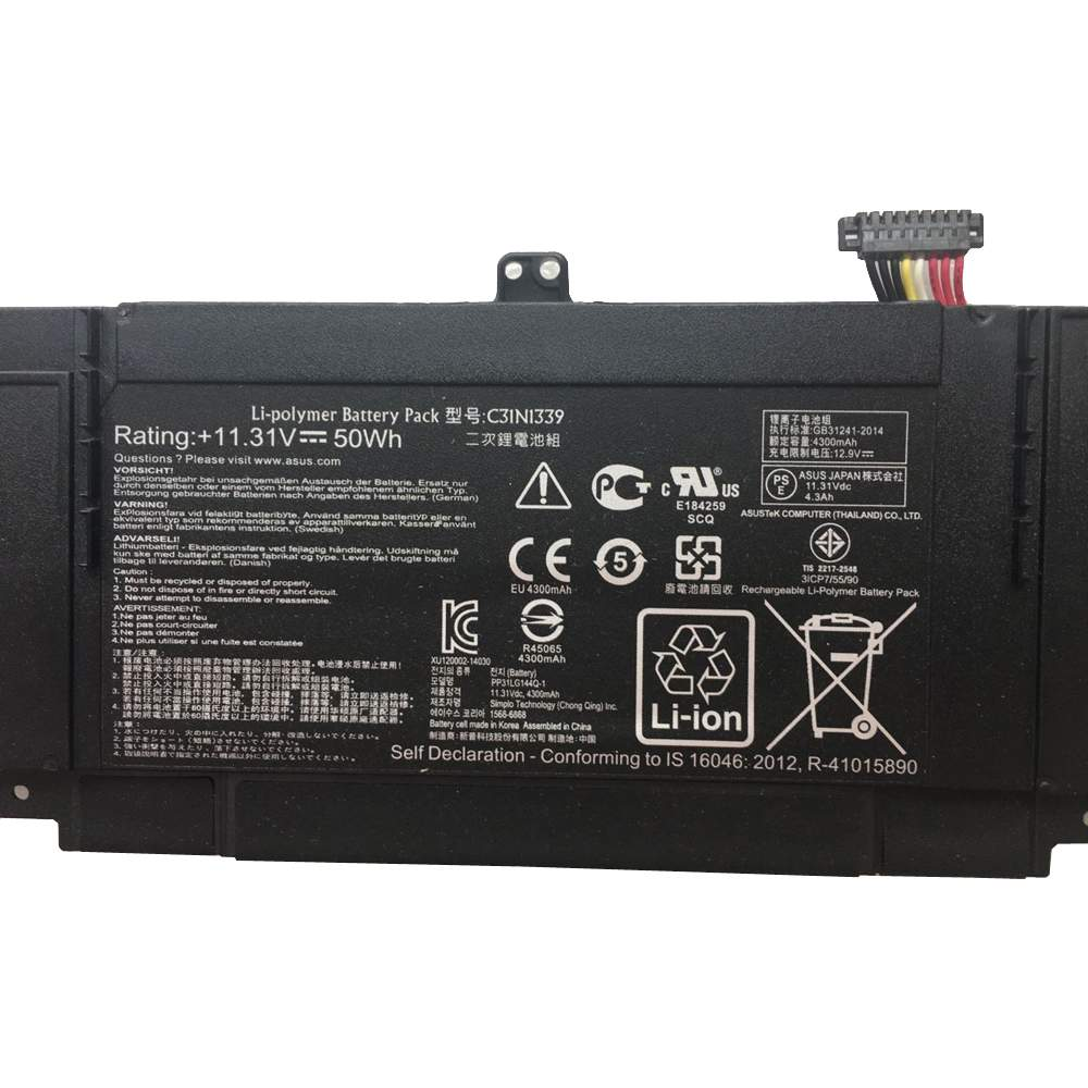 ASU2829 for Asus ZenBook UX303L Q302L