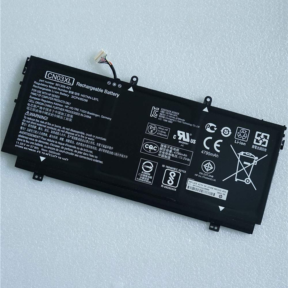 CN03XL for HP 13-AB001 13-AB099 13T-AB000 901308-421 HSTNN-LB7L