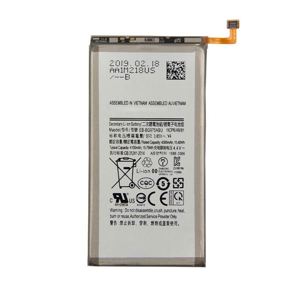 EB-BG975ABU for Samsung GALAXY S10 Plus S10+ SM-G9750