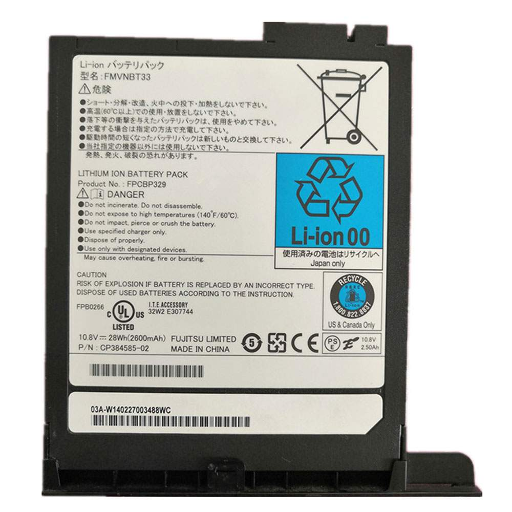 FMVNBT33 for Fujitsu T732 T902 CP384585-02 Series