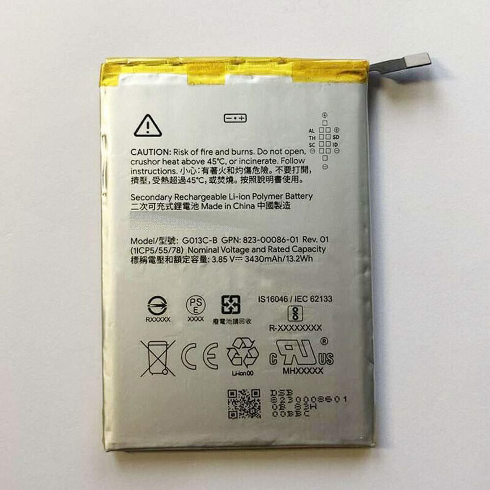 G013C-B for HTC Google Pixel 3XL 823-00086-01