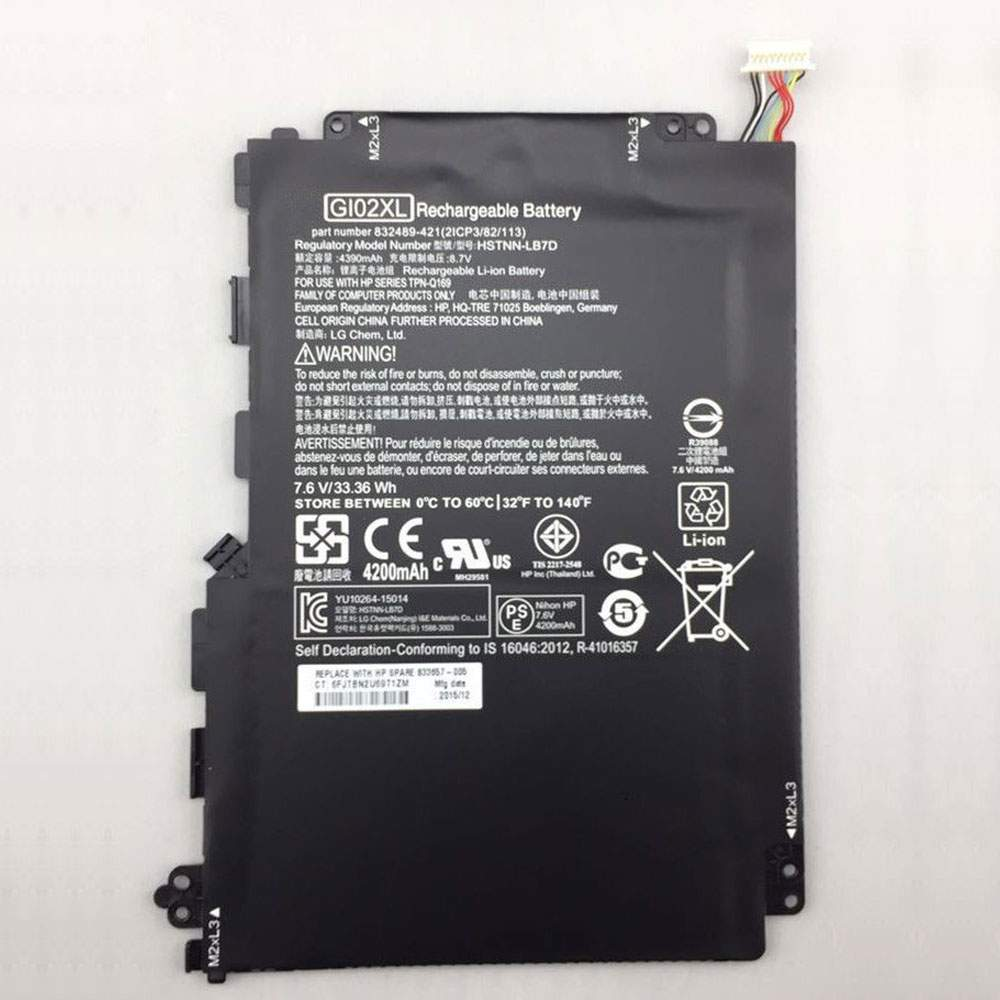 GI02XL for HP Pavilion X2 12