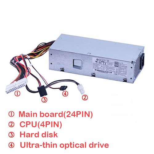 DPS-180AB-20A for HP 400G 2.5 SFF