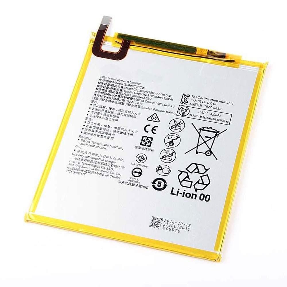 HB2899C0ECW for Huawei M3 M3-BTV-W09 M3-BTV-DL09