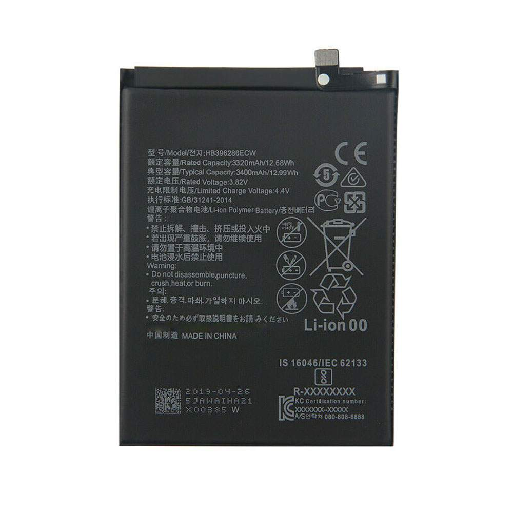 HB396286ECW for Huawei Honor 10 Lite Pour P
