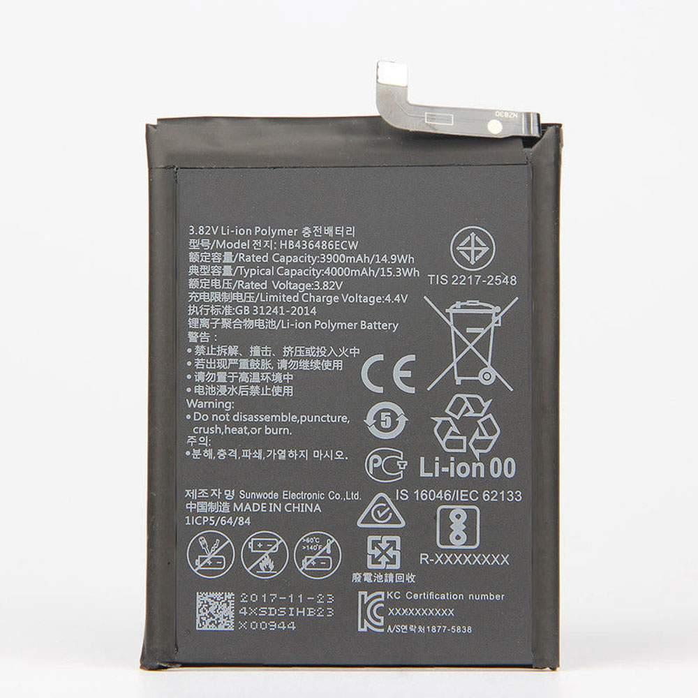 HB436486ECW for Huawei Mate 10 Mate X ALP-AL00