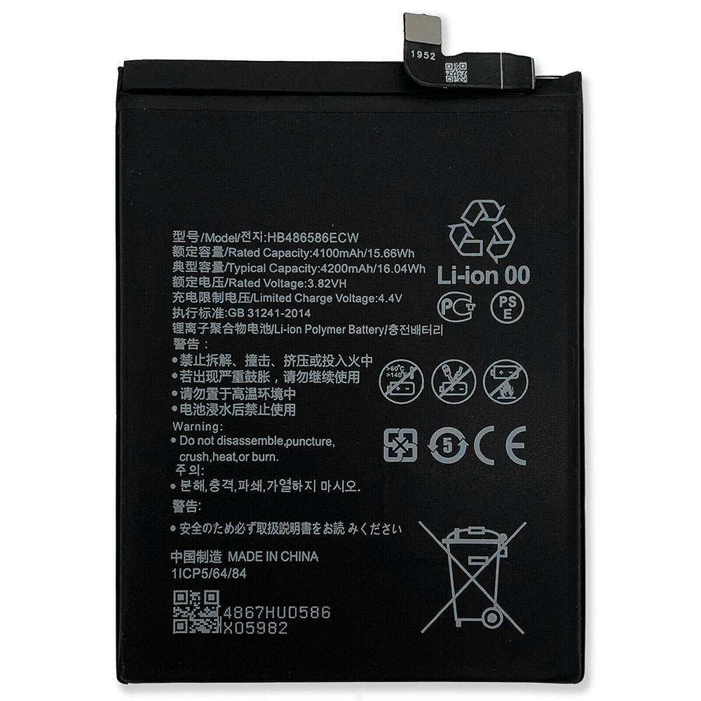 HB486586ECW for Huawei Mate30 Mate 30 V30 Nova6 Nova6 SE