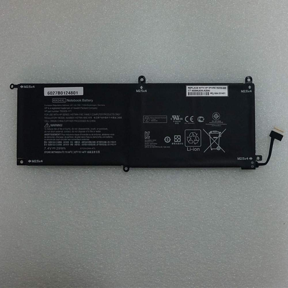 KK04XL for HP Pro x2 612 G1 Tablet 753703-005