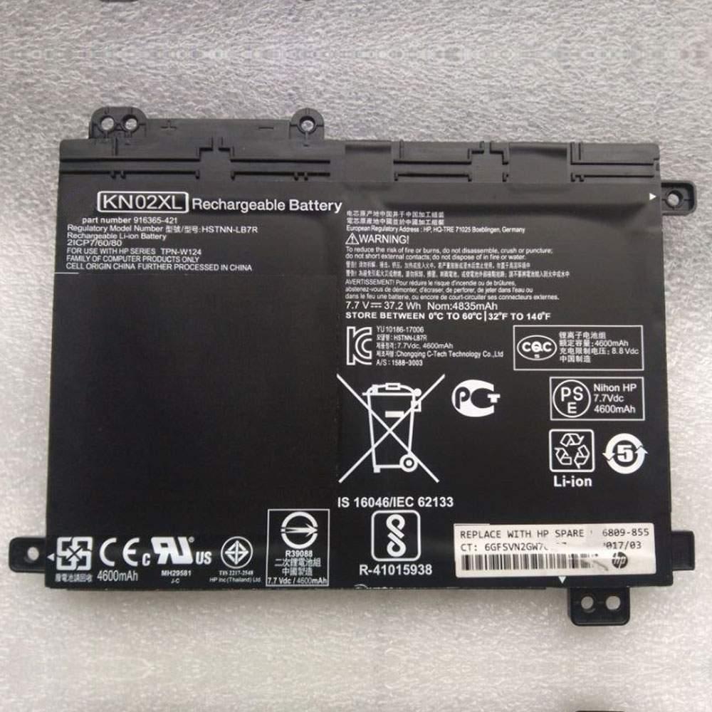 KN02XL for HP HSTNN-UB7F TPN-W124 916365-541 916809-855 HSTNN-LB7R