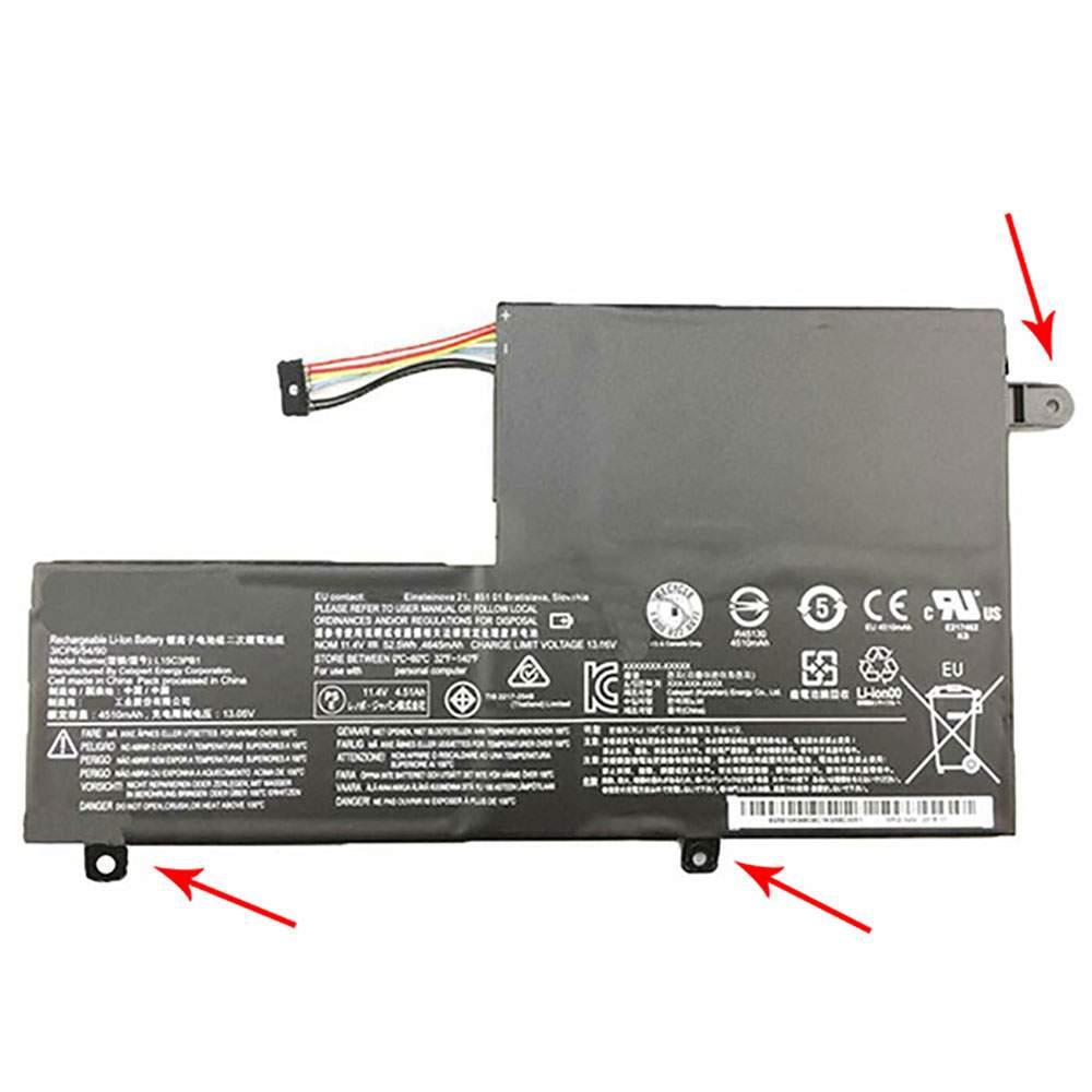 L15C3PB1 for Lenovo Ideapad Flex 4 1470 1480 1580 Yoga 510