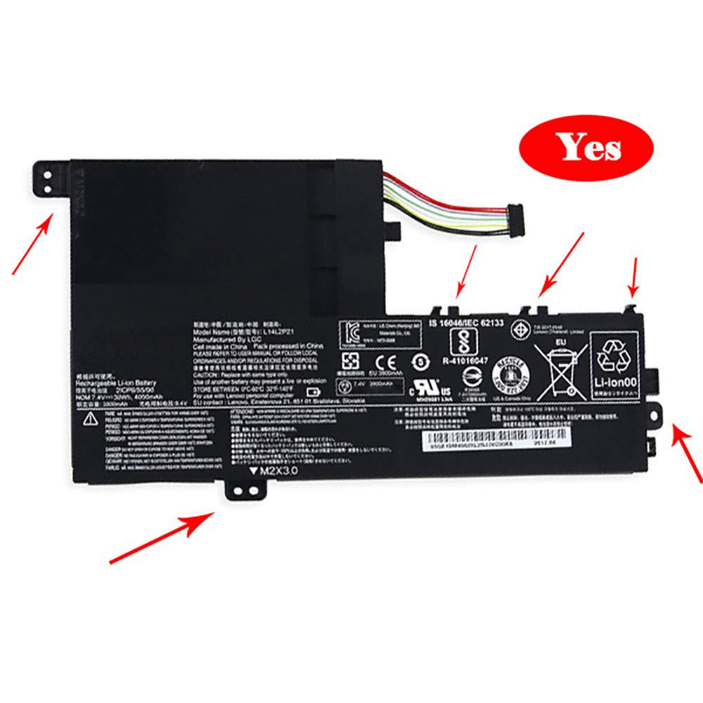 L15L3PB0 for Lenovo 7000-14 FLEX4-1580 Flex3 Yoga 510-14ISK