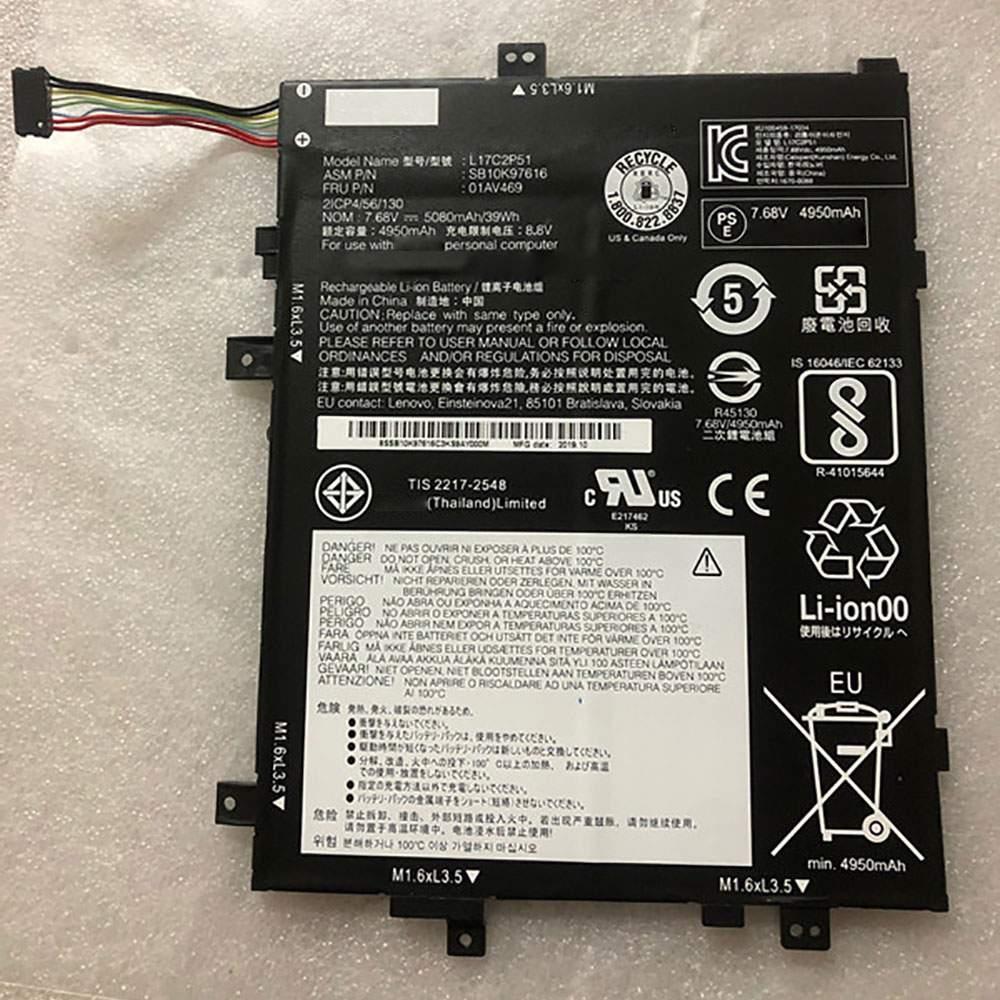 L17C2P51 for Lenovo Tablets