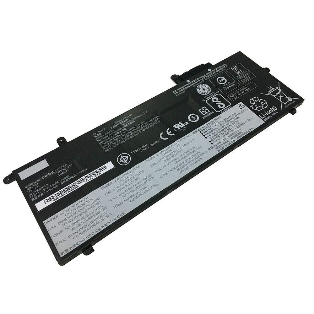L17C6P71 for Lenovo ThinkPad X280 Series