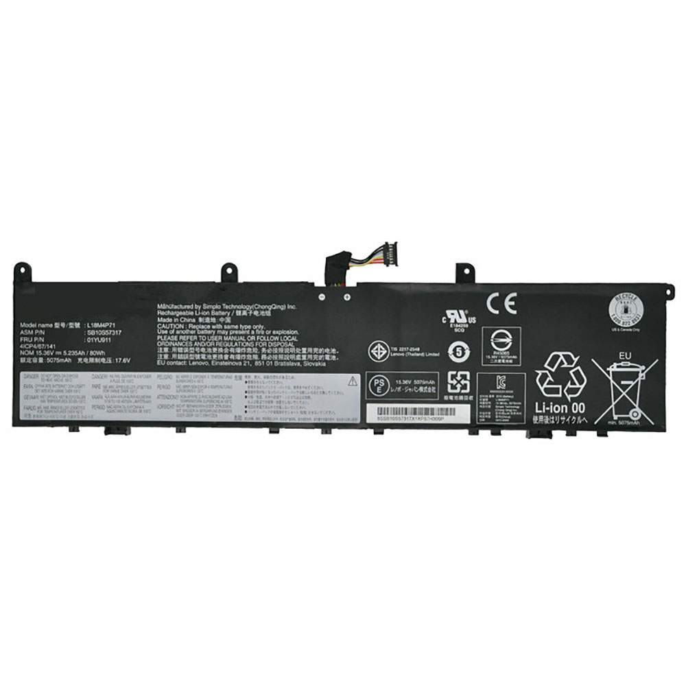 L18M4P71 for Lenovo ThinkPad P1 2019-20QT000RGE
