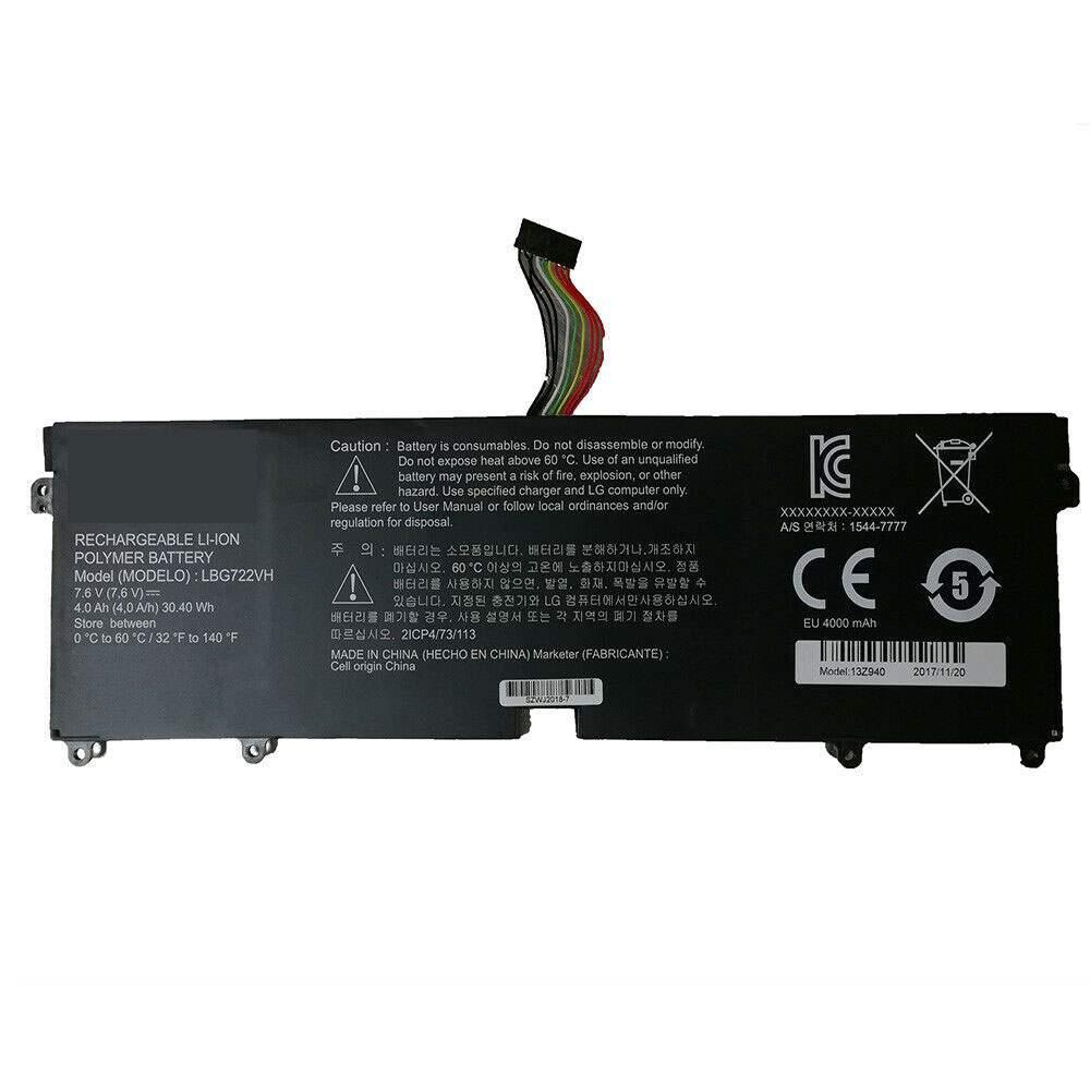 LBG722VH for LG Gram 14Z950 13Z940 13ZD940 14Z950-A 13Z940-G