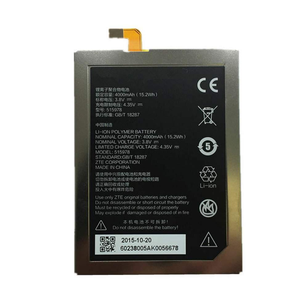 LI3820T43P6H903546-H for ZTE Blade X3 E169 515978 Q519T