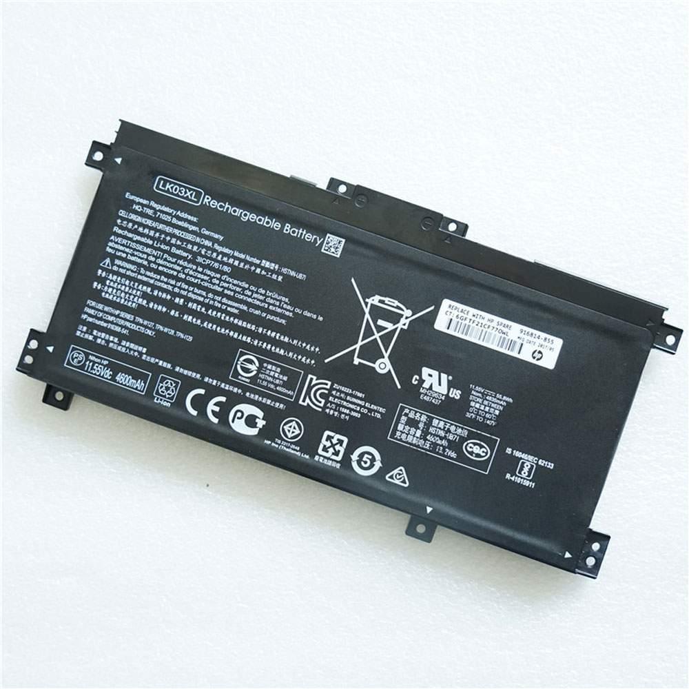 LK03XL for HP TPN-W127 TPN-W128 TPN-1129 HSTNN-UB7I HSTNN-LB7U